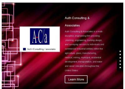 Auth Consulting & Associates Website
