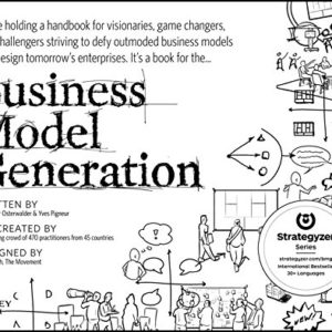 Business Model Generation, cover in black and white